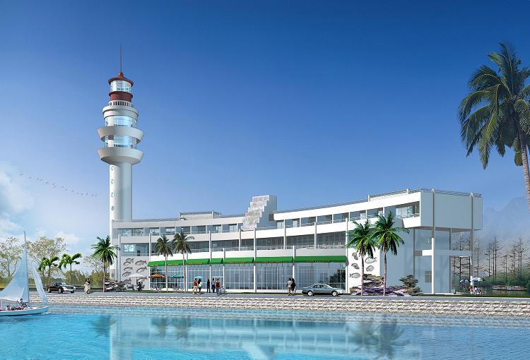海滨酒店设计方案带效果图高清图片