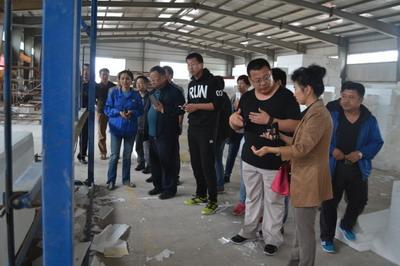 天辰TCBCI再次承办华彩建材工厂参观